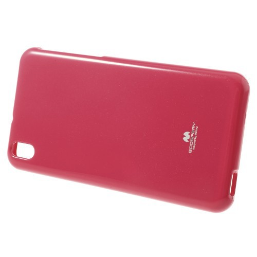 Фото TPU чехол Mercury Jelly Color series для HTC Desire 816 Малиновый на itsell.ua