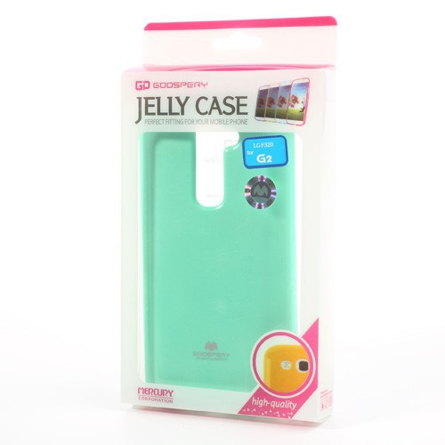 Купить TPU чехол Mercury Jelly Color series для LG D802 Optimus G2 Бирюзовый на itsell.ua