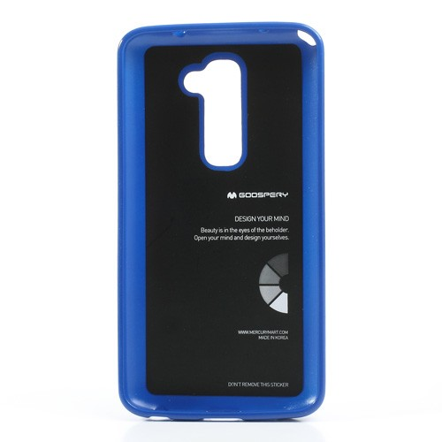 Фото TPU чехол Mercury Jelly Color series для LG D802 Optimus G2 Синий в магазине itsell.ua