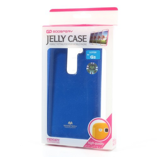 Купить TPU чехол Mercury Jelly Color series для LG D802 Optimus G2 Синий на itsell.ua