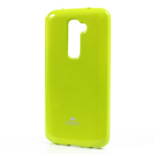 Фото TPU чехол Mercury Jelly Color series для LG D802 Optimus G2 Зеленый на itsell.ua