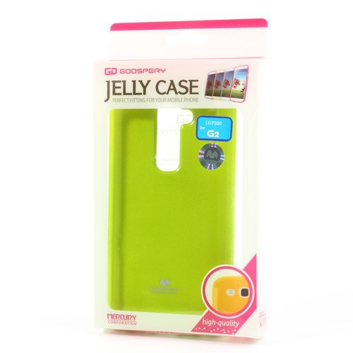 Купить TPU чехол Mercury Jelly Color series для LG D802 Optimus G2 Зеленый на itsell.ua