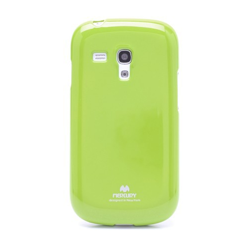 Фото TPU чехол Mercury Jelly Color series для Samsung i8190 Galaxy S3 mini Зеленый на itsell.ua