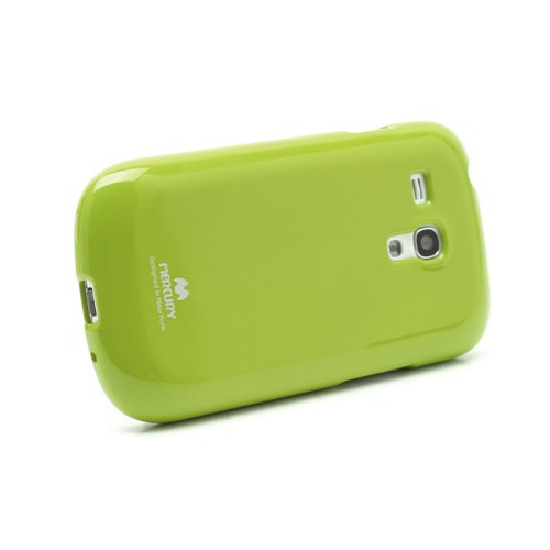 Фото TPU чехол Mercury Jelly Color series для Samsung i8190 Galaxy S3 mini Зеленый в магазине itsell.ua