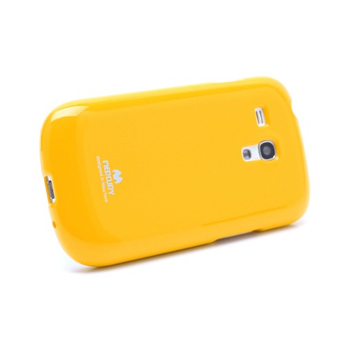 Фото TPU чехол Mercury Jelly Color series для Samsung i8190 Galaxy S3 mini Желтый в магазине itsell.ua