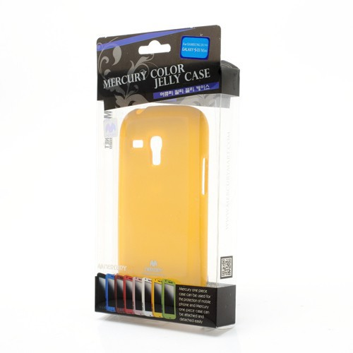 Заказать TPU чехол Mercury Jelly Color series для Samsung i8190 Galaxy S3 mini Желтый на itsell.ua