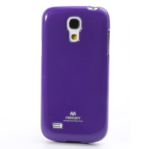 Фото TPU чехол Mercury Jelly Color series для Samsung i9192/i9190/i9195 Galaxy S4 mini Фиолетовый на itsell.ua