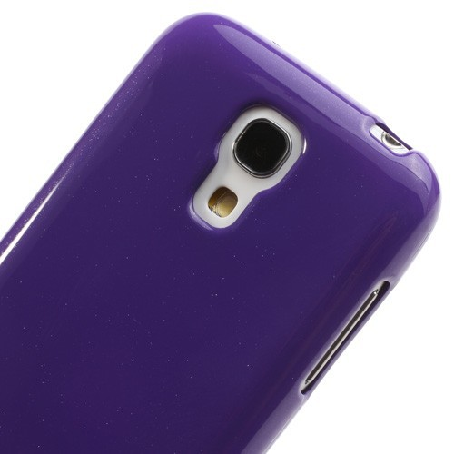 TPU чехол Mercury Jelly Color series для Samsung i9192/i9190/i9195 Galaxy S4 mini Фиолетовый в магазине itsell.ua