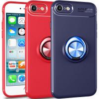 TPU чехол Deen ColorRing под магнитный держатель (opp) для Apple iPhone 7 (4.7'')