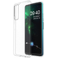 TPU чехол Epic Transparent 1,0mm для Huawei P Smart (2021)