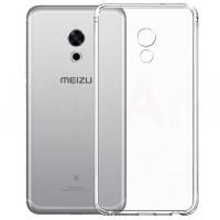 TPU чехол Epic Transparent 1,0mm для Meizu Pro 6