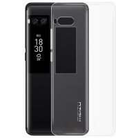 TPU чехол Epic Transparent 1,0mm для Meizu Pro 7 Plus