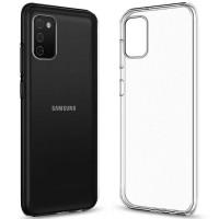TPU чехол Epic Transparent 1,0mm для Samsung Galaxy A03s
