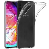 TPU чехол Epic Transparent 1,0mm для Samsung Galaxy A70 / A70s