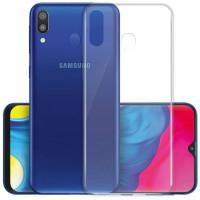 TPU чехол Epic Transparent 1,0mm для Samsung Galaxy M20