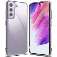 TPU чехол Epic Transparent 1,0mm для Samsung Galaxy S21 FE