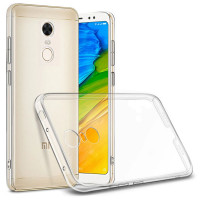 TPU чехол Epic Transparent 1,0mm для Xiaomi Redmi 5 Plus / Redmi Note 5 (Single Camera)