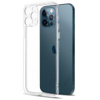 "TPU чехол Epic Transparent 1,5mm Full Camera для Apple iPhone 12 Pro Max (6.7"")"