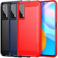 TPU чехол iPaky Slim Series для Huawei P Smart (2021)