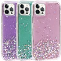 "TPU чехол Star Glitter для Apple iPhone 12 Pro / 12 (6.1"")"