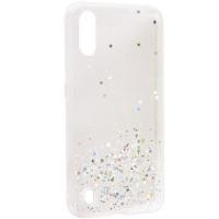 TPU чехол Star Glitter для Samsung Galaxy A01