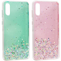 TPU чехол Star Glitter для Samsung Galaxy A02