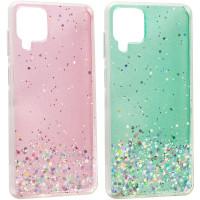 TPU чехол Star Glitter для Samsung Galaxy A12 / M12