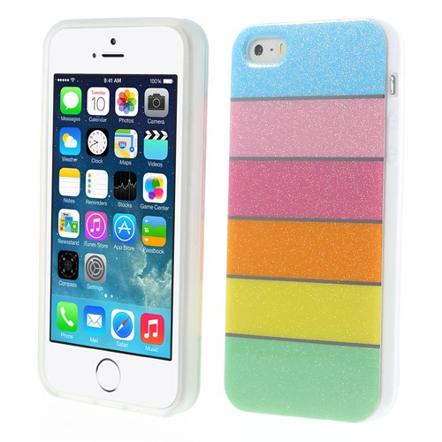 Купить TPU чехол Colorful Rainbow для Apple iPhone 5/5S/SE за 99 грн