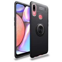 TPU чехол Deen ColorRing под магнитный держатель для Samsung Galaxy A10s