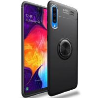 TPU чехол Deen ColorRing под магнитный держатель для Samsung Galaxy A50 (A505F) / A50s / A30s