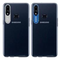 TPU чехол Epic clear flash для Samsung Galaxy A10S