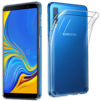 TPU чехол Epic Transparent 1,0mm для Samsung A750 Galaxy A7 (2018)