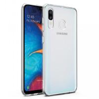 TPU чехол Epic Transparent 2,00 mm для Samsung Galaxy A20 (A205F)