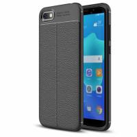 TPU чохол фактурний (з імітацією шкіри) для Huawei Y5 (2018) / Y5 Prime (2018) / Honor 7A