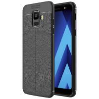 Купить TPU чехол фактурный (с имитацией кожи) для Samsung J600F Galaxy J6 (2018), Epik