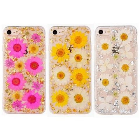 Купить TPU чехол 'Flowers and tinsel ' для Apple iPhone 6/6s (4.7') (3 цвета) за 289 грн