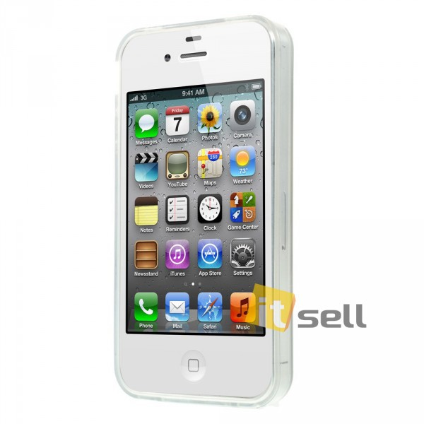 TPU чехол IMD Erotic print для Apple iPhone 4/4S Hot Sexy Girl на itsell.ua