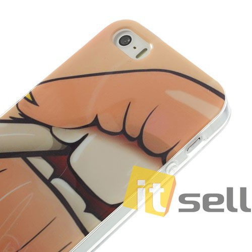 TPU чехол IMD Erotic print для Apple iPhone 5/5S/SE Mouth в магазине itsell.ua