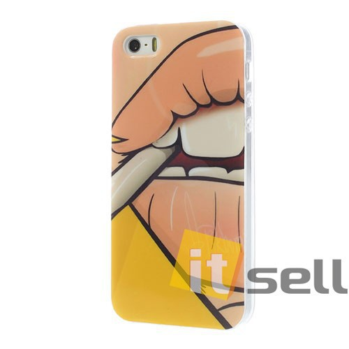 Купить TPU чехол IMD Erotic print для Apple iPhone 5/5S/SE за 39 грн