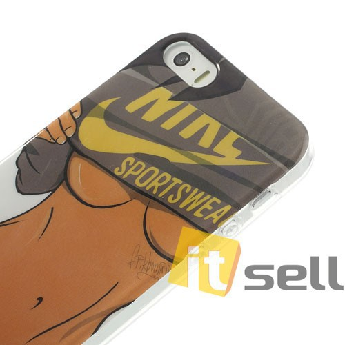Фото TPU чехол IMD Erotic print для Apple iPhone 5/5S/SE Sexy Lady Body в магазине itsell.ua