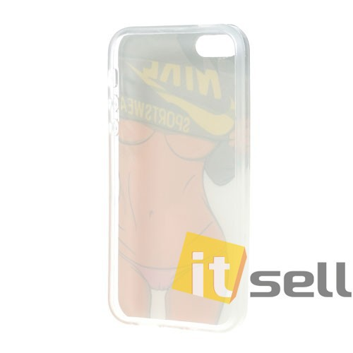 TPU чехол IMD Erotic print для Apple iPhone 5/5S/SE Sexy Lady Body на itsell.ua