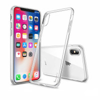 "TPU чехол iPaky Clear Series (+стекло) для Apple iPhone X (5.8"") / XS (5.8"")"