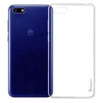 Купить TPU чехол iPaky Clear Series (+стекло) для Huawei Y5 (2018) / Y5 Prime (2018)