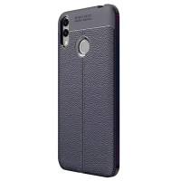TPU чохол iPaky Litchi Series для Huawei Honor 8X