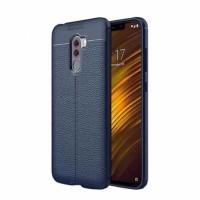 TPU чехол iPaky Litchi Series для Xiaomi Pocophone F2
