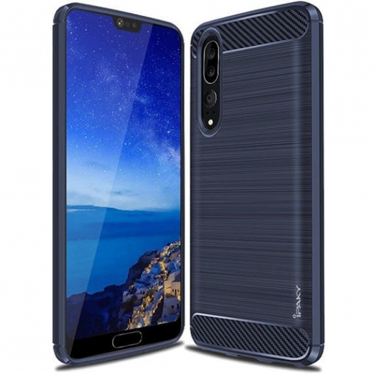TPU чохол iPaky Slim Series для Huawei P20 Pro (Синій)