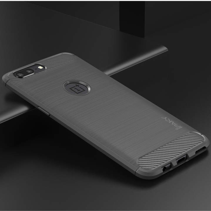 TPU чехол iPaky Slim Series для OnePlus 5 (Серый)