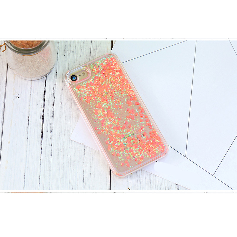 Купить TPU чехол Liquid hearts для Apple iPhone 7 / 8 (4.7') за 229 грн