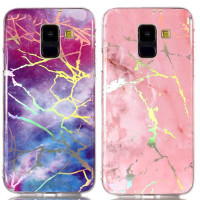 TPU чохол Marble Series для Samsung Galaxy A8+ (2018) (A730)