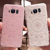 TPU чехол матовый soft touch для Samsung G955 Galaxy S8 Plus